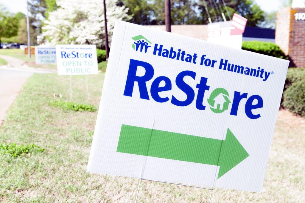 Habitat ReStore Sign