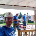 Ivey volunteer selfie