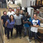 Ivey volunteers group photo
