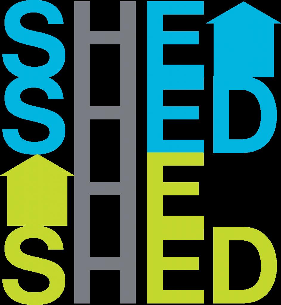 She Shed He Shed Logo