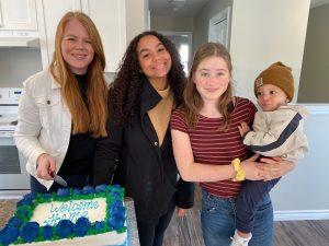 Lindsie & family